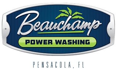 Beauchamp Power Washing Logo